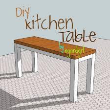 making my stead diy kitchen table part 1