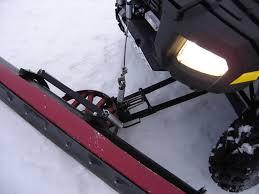 how to make a homemade snowplow