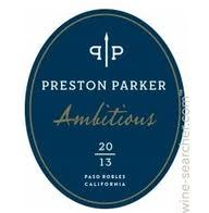 2013 Preston Parker 'Ambitious', Paso Robles | prices, stores, tasting  notes and market data