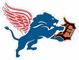 Detroit Red Wings Lions Tigers Fan Sport Sticker Decal Vinyl Car Bumper Window Ebay
