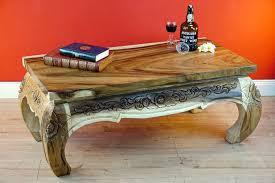 opium wood coffee table pathumwan