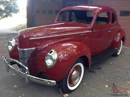 1940 ford coupe deluxe opera project