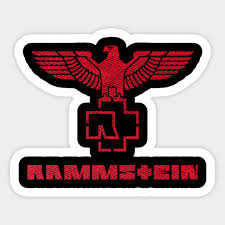 Entertainment Memorabilia Artists R Rock Pop Artists R Rammstein Die Cut Decal Sticker Band Logo Zsco Iq