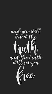the truth will set you quote love god calligraphy