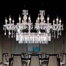 modern k9 crystal chandelier hotel