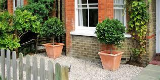 victorian terraced house front garden