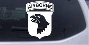 101st Airborne Division Car Or Truck Window Decal Sticker Rad Dezigns