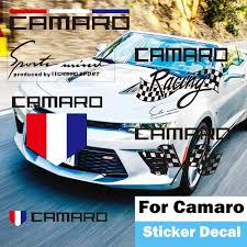 Camaro Zl1 Corvette Letter Badge Emblem Sticker Car Door Handle Lamp Eyebrow Fuel Tank Car Fender Rear Tail Trunk Decal Car Stickers Aliexpress