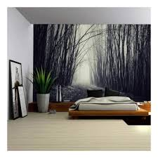 Forest Wall Mural Amazon Black And White For Home Decal Art Painting Images Nursery Near Me Vamosrayos