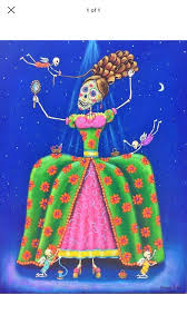 Pin by Lucia Dominquez on Day of the dead | Mexican folk art painting,  Mexican artists, Mexican folk art