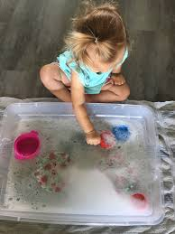 Water Sensory Bin for Toddlers – Kayla Dunham