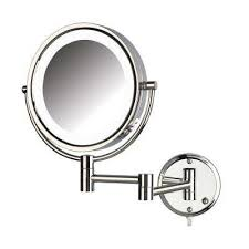 swing arm makeup mirrors bathroom