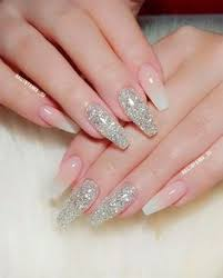 acrylic and coffin nail art on trendy