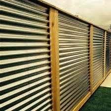 Horizontal Corrugated Metal Fence Panels Corrugated Metal Metal Fence Panels Corrugated Metal Fence