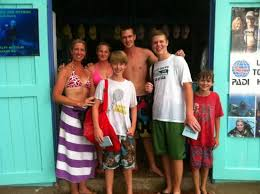 Polly, Stewart and the gang. - Picture of Dive Bequia - Tripadvisor