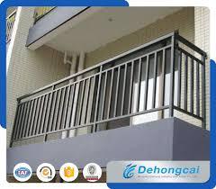 China Cheap Wrought Iron Balcony Fence Designs Galvanized Steel Safety Fence China Iron Fence Balcony Fence