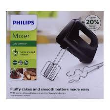 Máy đánh trứng cầm tay Philips HR3705 300W (Đen)