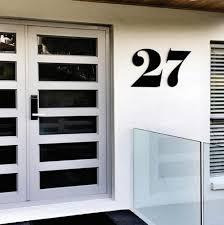 Individual Personalised House Number Lisasarah Steel Designs Nz