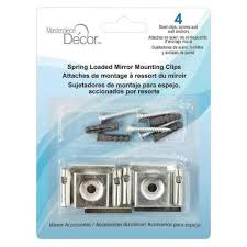 spring loaded mirror clips