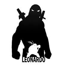 Teenage Mutant Ninja Turtles Leonardo Black Pearl Custom Vinyls