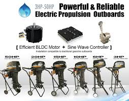 electric outboard motor china