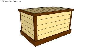 deck box plans free garden plans
