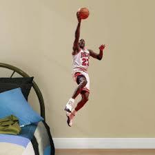 Michael Jordan Layup Fathead Jr