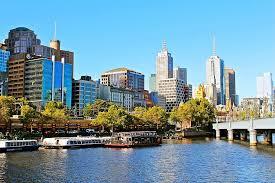 australia melbourne city cityscape