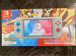 Nintendo Switch Lite Bundle - Pokemon Sword and Shield Special ...