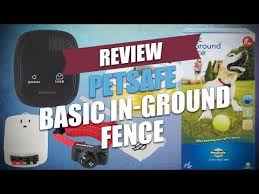Petsafe Basic In Ground Fence Review Youtube