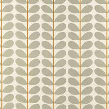 two colour stem fabric warm grey