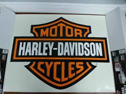 Harley Davidson Large Trailer Wall Decal Sticker 37x29 For Sale Online Ebay