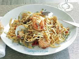 Italian Seafood Pasta & cooking with ...
