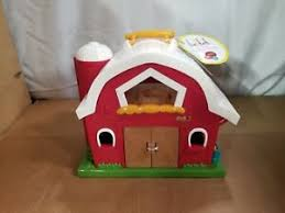 big red barn new in open box