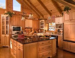 log cabin kitchens cabinets modern