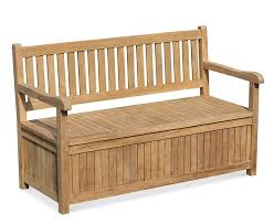 windsor wooden garden storage bench