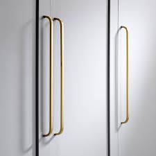 brass door and drawer long bar handles