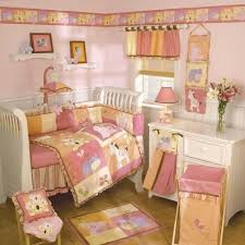 girl nursery crib