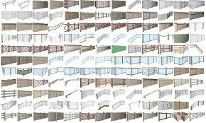 Instant Fence And Railing Plugin For Sketchup