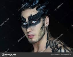raven bird makeup make up of a raven