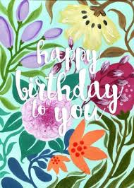 Happy Birthday Wiches Erin Brown Floral Happy Birthday To You Askbirthday Com You Number One Source For Beautiful Collection Of Best Happy Birthday Wishes With Lovely Special Funny Good