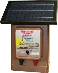 12v Solar Powered Electric Fence Charger Princess Auto
