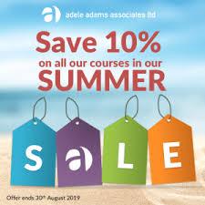 The 2019 Summer Sale! - Food Safety Training - Adele Adams Associates