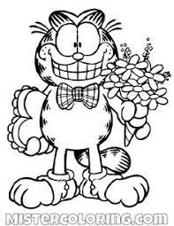 22 Beste Afbeeldingen Van Kleurplaat Garfield Kleurplaten