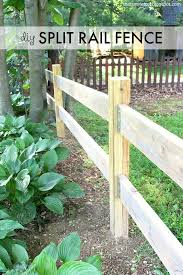 Diy Split Rail Fence Using Simpson Strong Tie Fence Brackets Fence Planning Split Rail Fence Diy Fence
