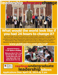 CCJS Undergrad Blog: The Rawlings Undergraduate Leadership Fellows Program