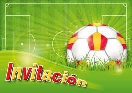 Edition Colibri 10 Invitaciones En Espanol Futbol Juego De 10