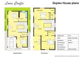 3 bedroom duplex house plans india