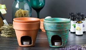 diy essential oil burner craft