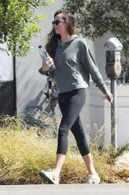dakota johnson leaving her yoga cl